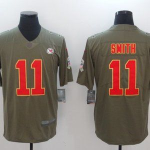 Men's Kansas City Chiefs #11 Alex Smith Jersey